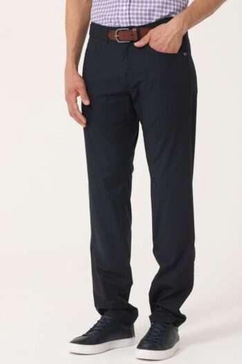 pantalón cinco bolsillos regular de poplín