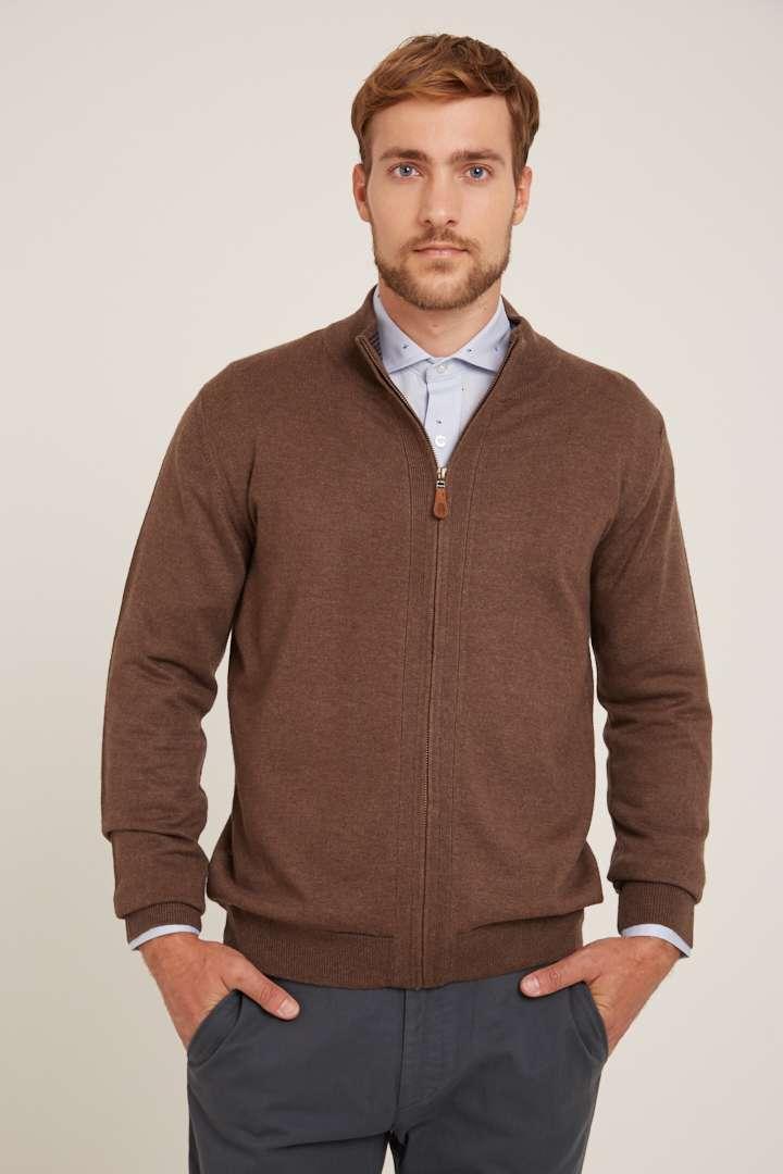 Campera clásica de lana liviana