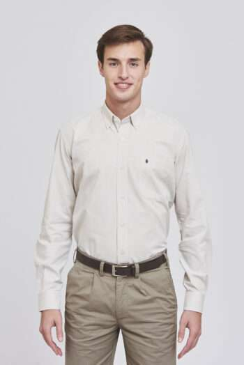 Camisa regular fit oxford
